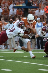 NCAA Football: New Mexico State at Texas